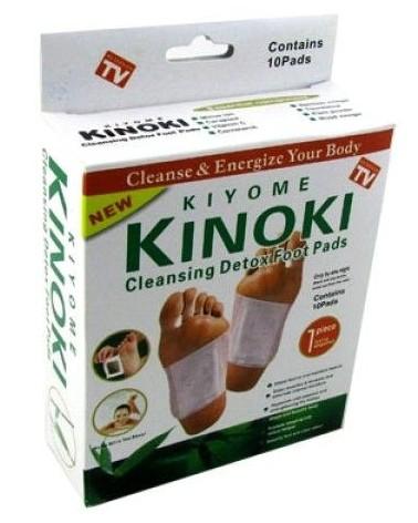 PLASTRY na STOPY oczyszczające DETOX KINOKI 10sztuk/5 par