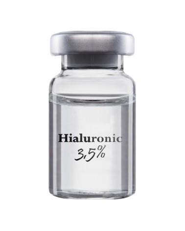 InnovaPharm Hyaluronic 3,5% - 5ml. Koktajl  Intensywnie NAWADNIAJĄCY i REGENERUJĄCY