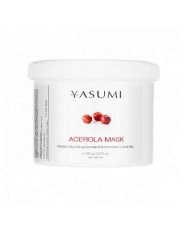 Yasumi ACEROLA MASK 190 g Maska Algowa Przeciwstarzeniowa z Acerolą