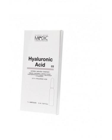Pierre Rene Medic HYALURONIC ACID 7x2ml ampułki z Kwasem Hialuronowymhialuronowym