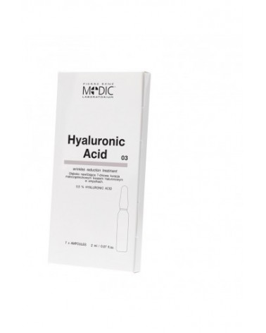 Pierre Rene Medic HYALURONIC ACID 1x2ml ampułka z Kwasem Hialuronowym