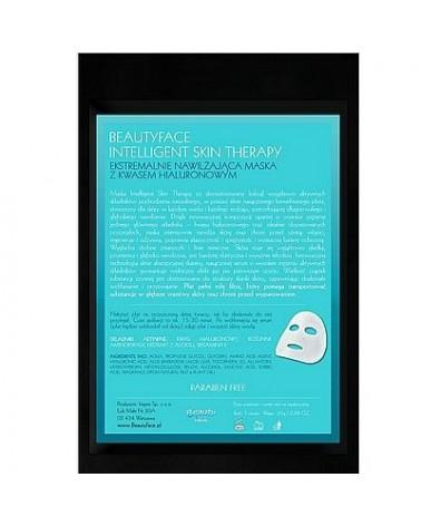 BeautyFace INTELLIGENT SKIN THERAPY Maska ekspresowa KWAS HIALURONOWY 1 płat