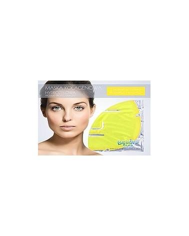 BeautyFace Maska z Ekstraktem Pomarańczy i Witaminą C w płacie kolagenowym 1 sztuka