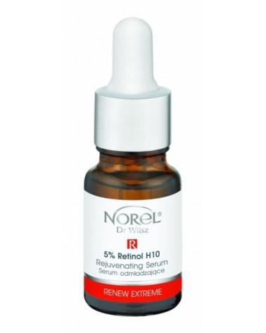 Norel RENEW  EXTREME - 5% Retinol H10 - Serum odmładzające 10ml