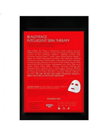 BeautyFace KOLAGEN MORSKI Maska ekspresowa w płacie bawełnianym