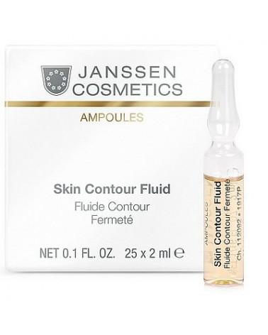 Janssen Skin CONTOUR Fluid ampułka 1x 2ml Peptydy i elastyna
