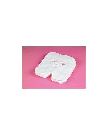 Maska Kosmetyczna Fizelinowa  do zabiegów na twarz- 10 szt