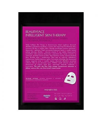 BeautyFace Maska ekspresowa AKTYWNA WIT E Poprawiająca Elastyczność 45+ 1 sztuka (płat bawełniany)
