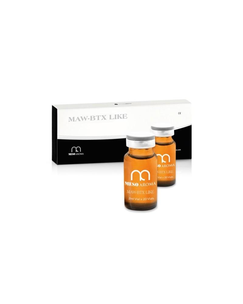 Meso Aroma BTX LIKE 10 x 2 ml. Preparat medyczny do mezoterapii okolic czoła, oczu, ust. Całe opakowanie