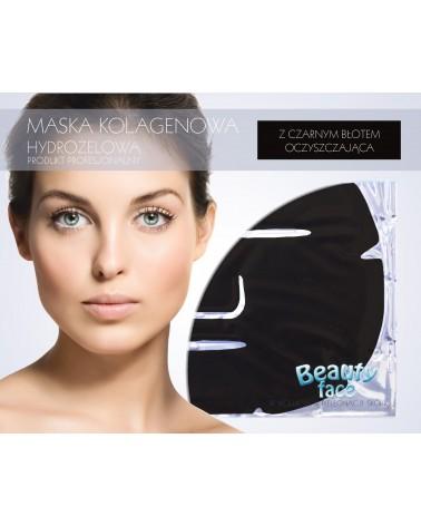 BeautyFace ANTYBAKTERYJNA KOLAGENOWA Maska OCZYSZCZAJĄCA i Zmniejszająca BLIZNY 1 płat