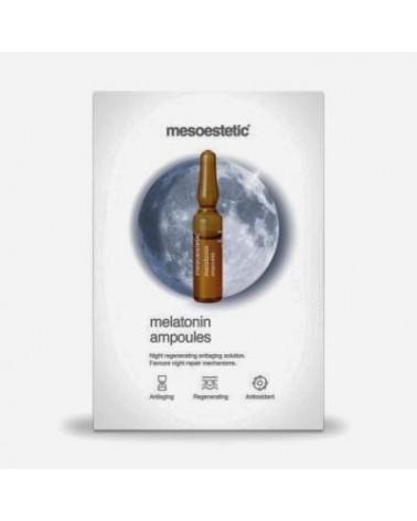 Mesoestetic MELATONIN 1x2ml ampułka Regenerująco Liftingująca na Noc