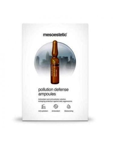 MesoEstetic POLLUTION DEFENSE ampułki 10x2ml Ochrona przed szkodliwymi czynnikami zewnętrznymi