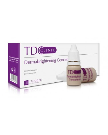 TDC Clinic DERMABRIGHTENING CONCENTRATE 1x10ml  Serum do zabiegu BB z czynnikami wzrostu komórek
