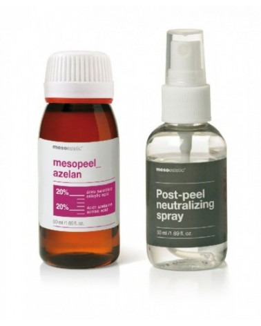 Mesoestetic Mesopeel AZELAN 50ml + NEUTRALIZATOR  w sprayu 50ml