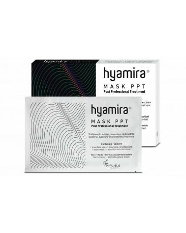 Hyamira MASK PPT  3 set Pozabiegowa MEDYCZNA  Maska Liftingująca 3 komplety