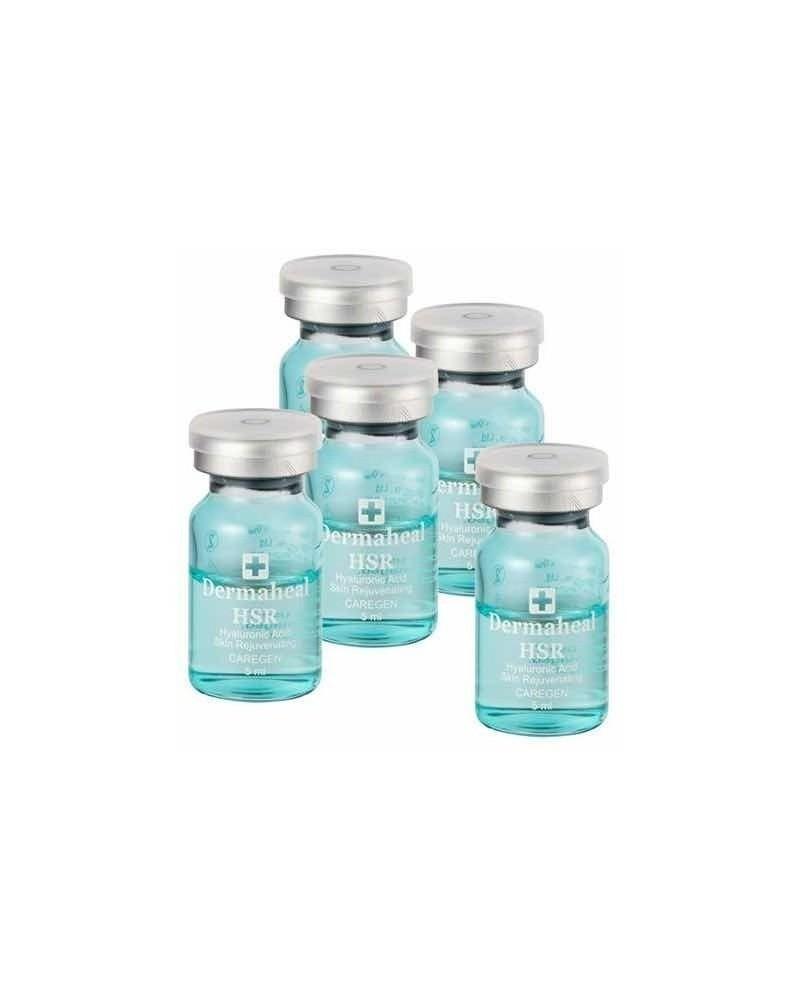 Dermaheal HSR 10x5 ml - 50mg HA - do rewitalizacji skóry dojrzałej. Całe opakowanie