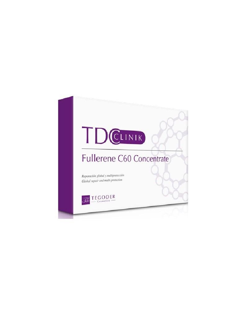 Tegoder Clinic FULLERENE C60 CONCENTRATE 1x4ml Koktajl odmładzający i regenerujący skórę z Aktywnym Węglem