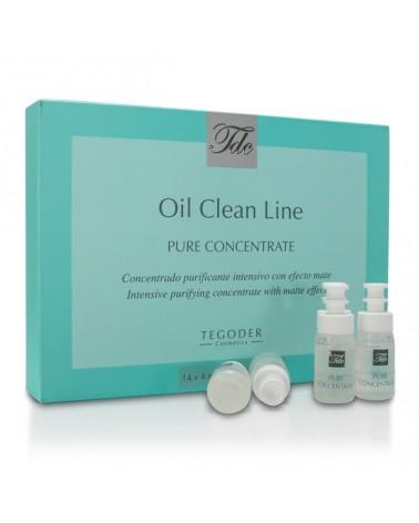 Tegoder OIL CLEAN LINE PURE CONCENTRATE  14x4ml Ampułki oczyszczające i odblokowujące pory do skóry trądzikowej