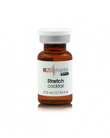MezoPharma STRETCH Cocktail 1x 5ml Do mezoterapii skóry wiotkiej, z bliznami i rozstępami