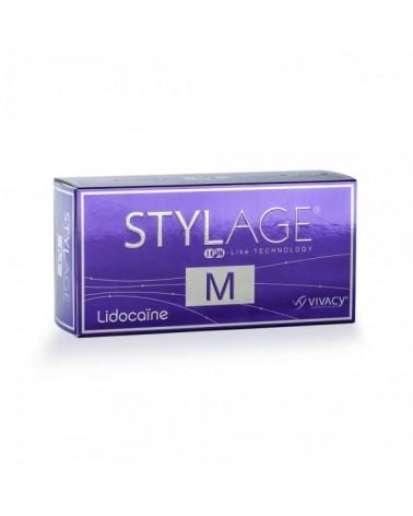 Stylage M 1x1ml z lidokainą Usieciowany kwas hialuronowy + antyoksydant