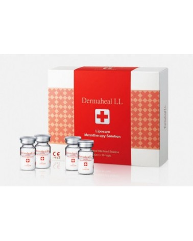 Dermaheal LL  Fiolka 3x5ml. Do lipolizy