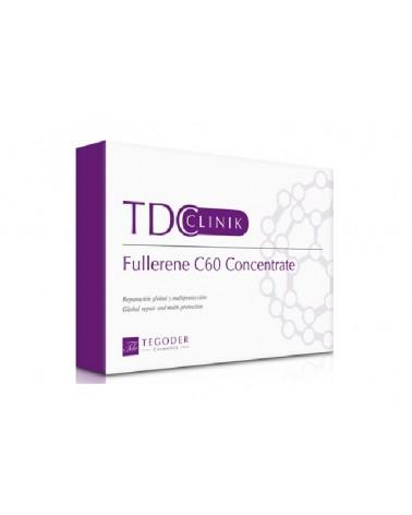 Tegoder Clinic FULLERENE C60 CONCENTRATE 14x4ml Koktajl odmładzający i regenerujący skórę z Aktywnym Węglem