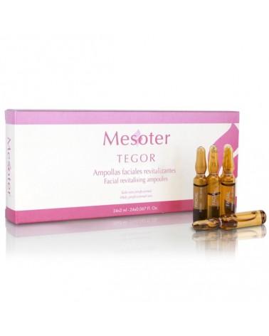 Tegoder Mesoter FACIAL REVITALIZING 24x2ml Rewitalizujące ampułki do mezoterapii