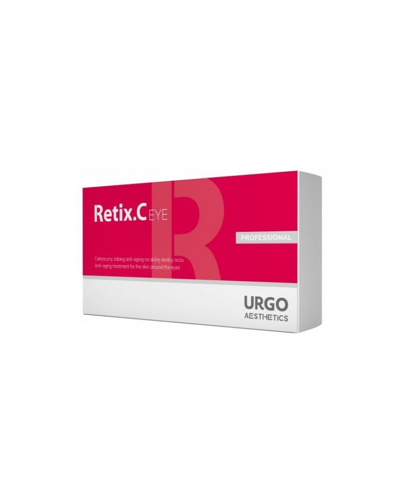 Xylogic RETIX C EYE NOWOŚĆ Peeling 14ml + serum ampułki 6x2ml + maska 6x6ml - 6 zabiegów