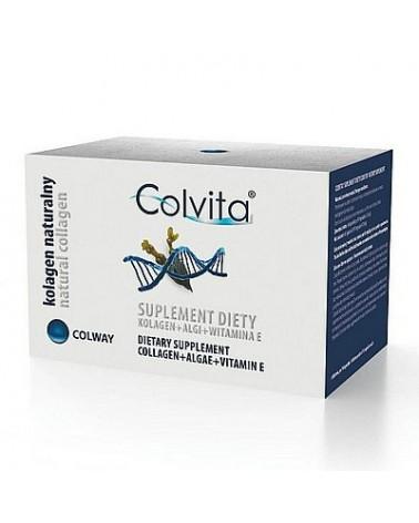 Natural Collagen COLVITA Kapsułki urody z Kolagenem Rybim 120 sztuk + GRATIS! Kapsułki Age Limit.