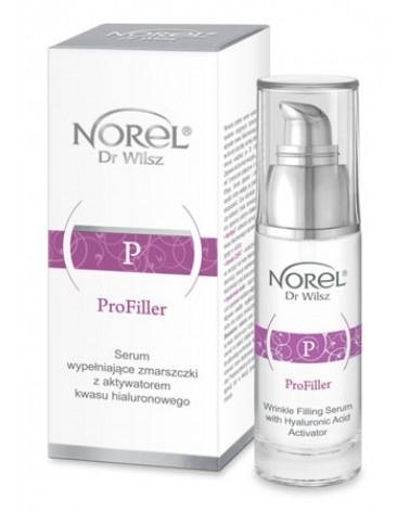 Norel PROFILLER Serum Wypełniające Zmarszczki z Aktywatorem Kwasu Hialuronowego 30ml