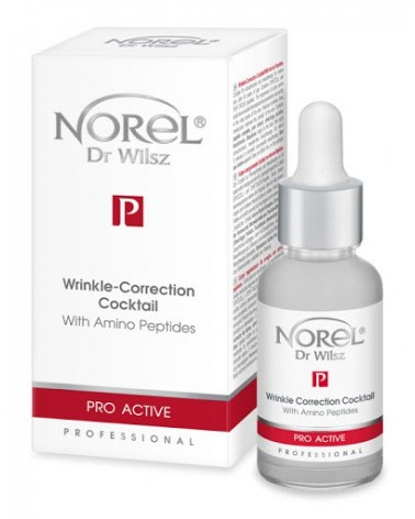 Norel (Dr Wilsz) WRINKLE-CORRECTION COCKTAIL WITH AMINO PEPTIDES 30ml Koktajl korygujący zmarszczki z aminopeptydami