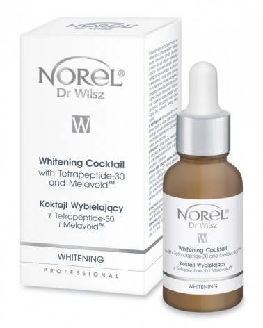 Norel WHITENING COCKTAIL - KOKTAJL WYBIELAJĄCY z TETRAPEPTIDE-30 I MELAVOID) 30ml