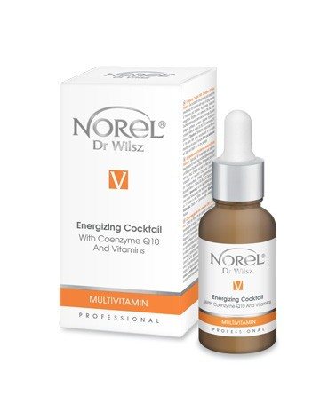 Norel (Dr Wilsz) MULTIVITAMIN ENERGIZING COCKTAIL 30ml Koktajl energizujący z koenzymem Q10 i witaminami