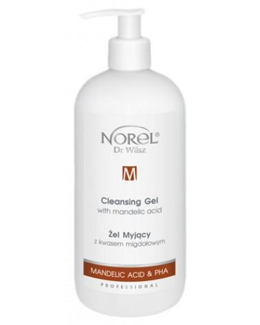 Norel Cleansing Gel with Mandelic Acid 500ml Profesjonalny Żel myjący z kwasem migdałowym
