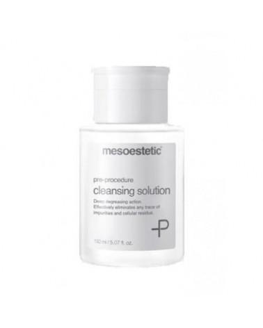Mesoestetic Płyn odtłuszczający z AHA i PHA 150ml Cleansing solution