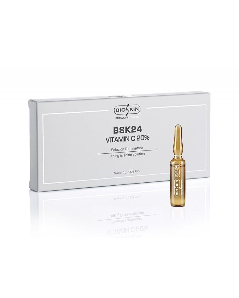 Bioskin VITAMIN C 20% - ampułka z witaminą C 1x5 ml