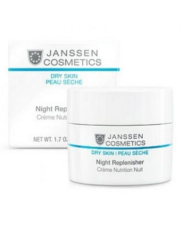 Janssen NIGHT REPLENISHER CREAM for dry skin 15ml Krem regenerujący na noc do skóry odwodnionej
