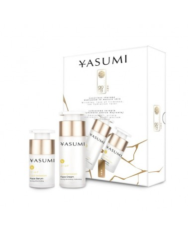 Yasumi Zestaw GOLD SENSATION BOX Krem 30ml + serum 15ml