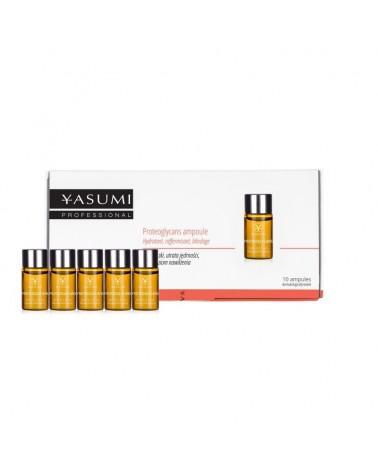 Yasumi PROTEOGLYCANS 10x3ml Proteoglikany - nawilżają i wzmacniają gęstość skóry. Całe opakowanie