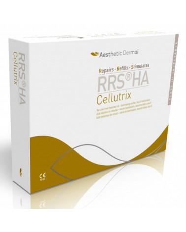RRS HA Cellutrix 6x10ml  Medyczny preparat do lipolizy. Na uporczywy cellulit. Całe opakowanie