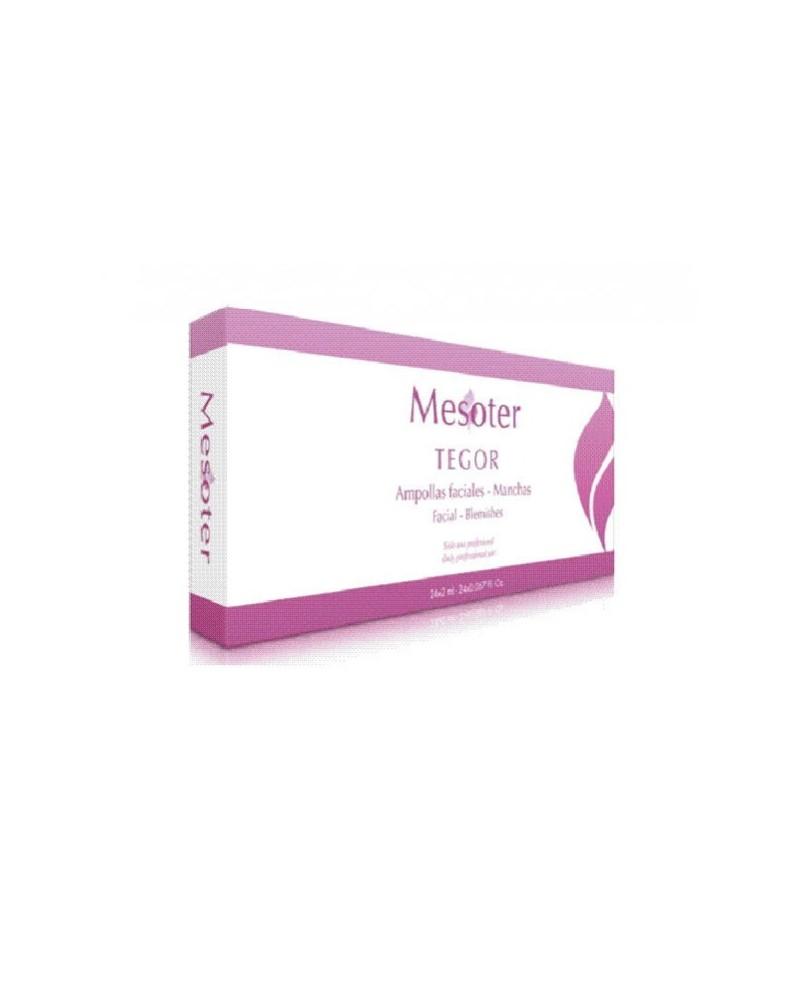 Tegoder MESOTER MANCHAS 1x2ml Ampułka na przebarwienia do mezoterapii/elektroporacji do twarzy/ciała Całe opakowanie