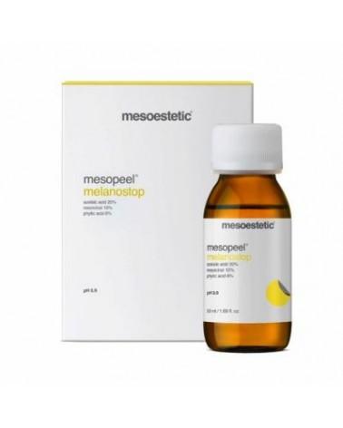 Mesoestetic  MELANOSTOP Peeling dermatologiczny NOWOŚĆ hiperpigmentacja przebarwienia 50 ml + neutralizator 50 m