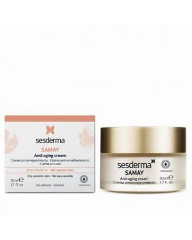 Sesderma SAMAY Anti Aging Cream Krem przeciwstarzeniowy odżywczy do skóry wrażliwej 50 ml