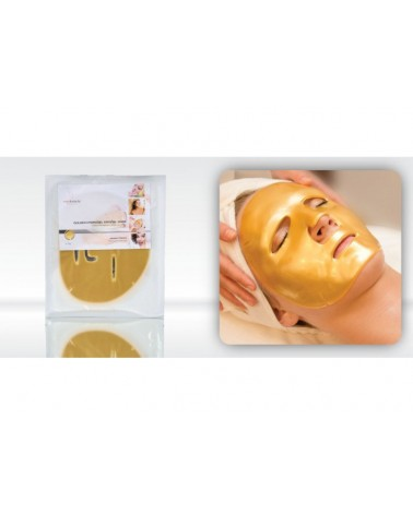 MedBeauty Hydrogel Golden Crystal Mask - Koloidalne złoto maska hydrożelowa 1 sztuka