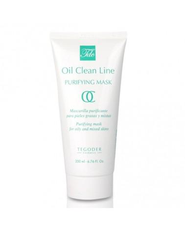 Tegoder  OIL CLEAN PURIFYING MASK 200ml Maska oczyszczająca do skóry mieszanej i tłustej