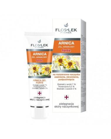 Floslek ARNICA Żel z arniką forte 50 ml. Na siniaki, obrzmienia - po zabiegach z zakresu medycyny estetycznej.
