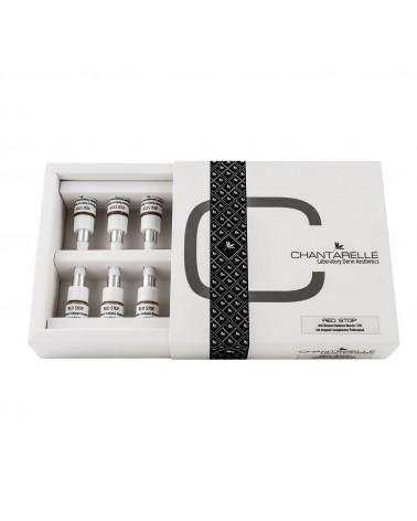 Chantarelle  RED STOP 1x2,5ml  Koncentrat 32% przeciw zaczerwienieniom dla skóry wrażliwej z objawami trądziku różowatego