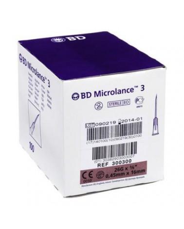 BD Microlance 26G x 0,45x 13mm - 100 szt. Całe opakowanie