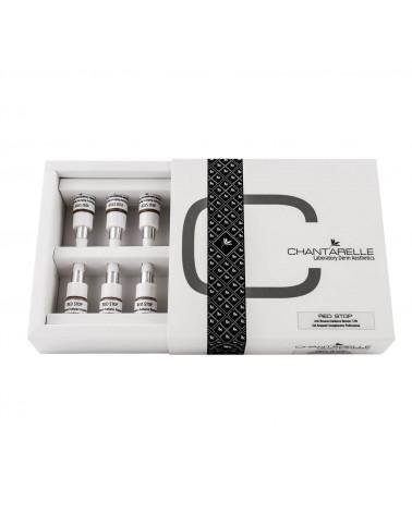 Chantarelle  RED STOP 10x2,5ml  Koncentrat 32% przeciw zaczerwienieniom dla skóry wrażliwej z objawami trądziku różowatego