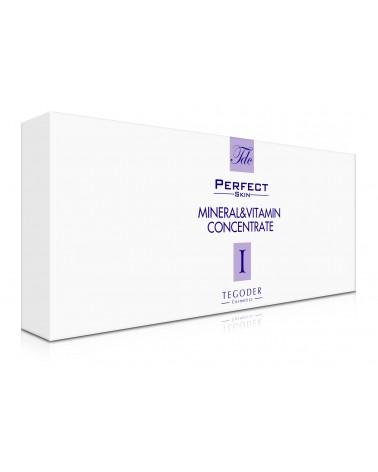 Tegoder PERFECT SKIN I MINERAL&VITAMIN CONCENTRATE 22x2ml Ampułki witaminowo-mineralne Całe opakowanie